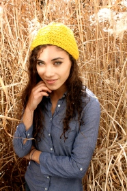 Double Drop Stitch Hat by Whit