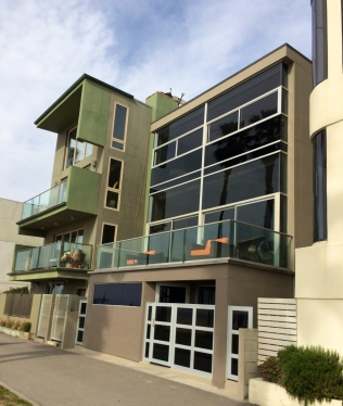 Mod houses on the Boardwalk