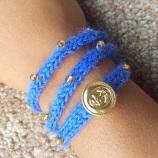 Wrap Bracelet by KnitsbyWhitSF