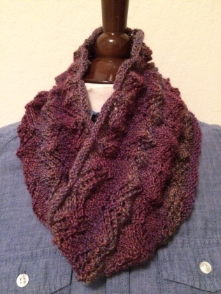 Purple Canyon Cowl by Whit