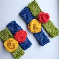 Garter Flower Headbands by Whit