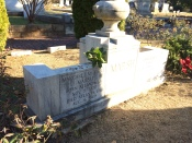 "Margaret Mitchell's Gravestone (author of ""Gone with the Wind"")"