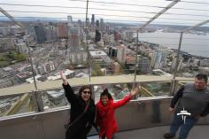 Fun on the Space Needle