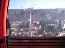 Cable Car in the city