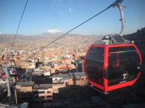 Cable Car over the city