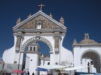 Church in Copacabana