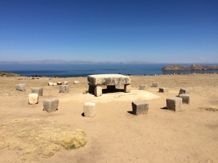 Sacrificial Inca Table- Isla Del Sol
