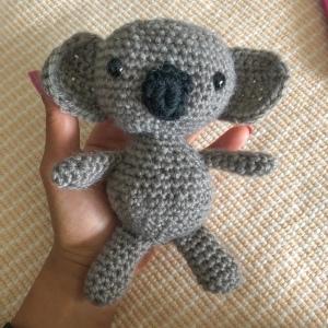 Crochet koala toy